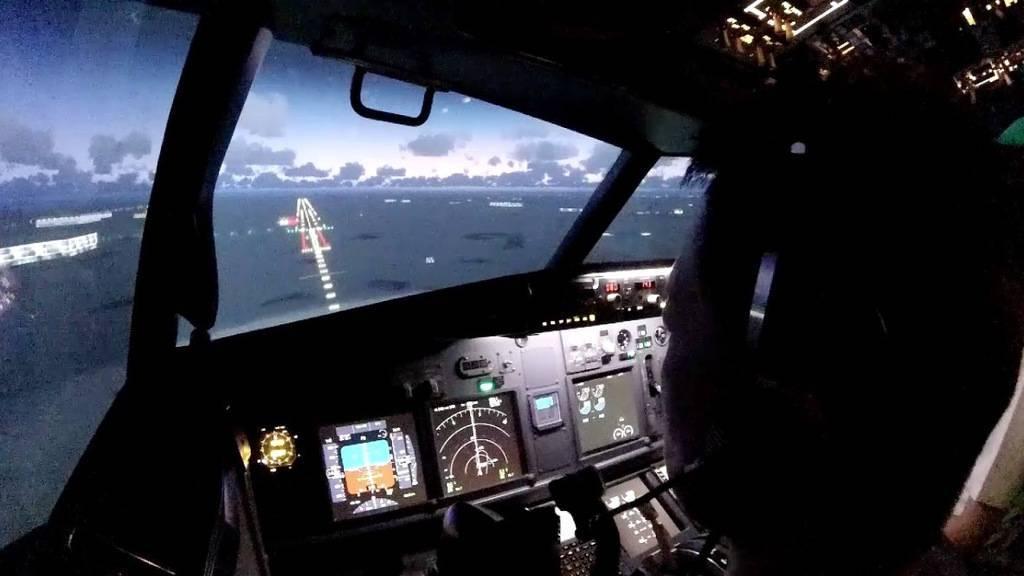 landing an aircraft
